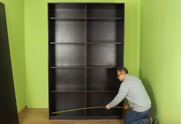 измерение шкафа