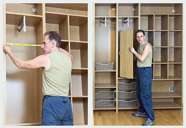 Как сделать дверь для шкафа купе своими руками в домашних условиях 47